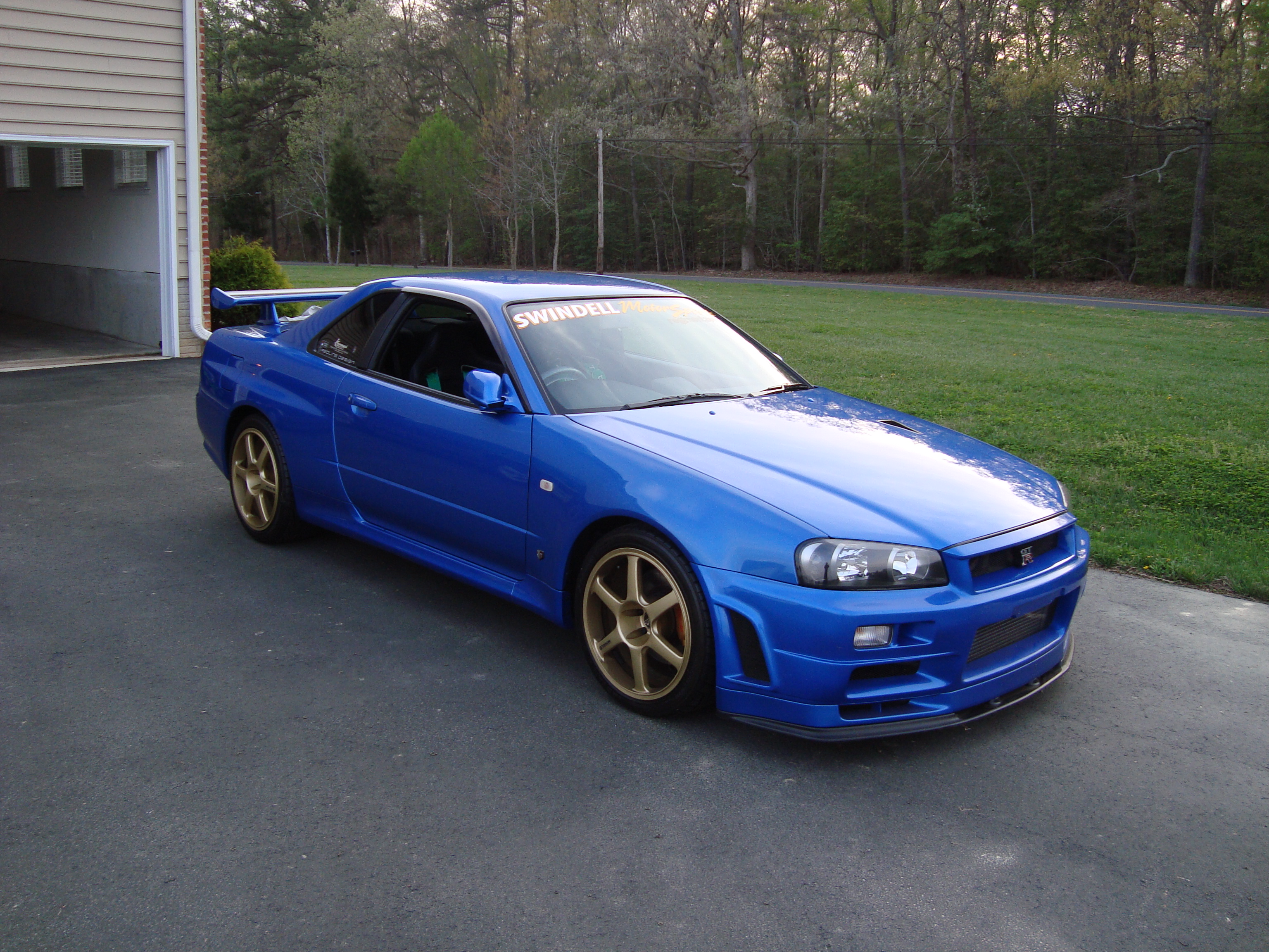 2002 nissan skyline r34 gtr vspec 2 nur sold to our u s customer in washington